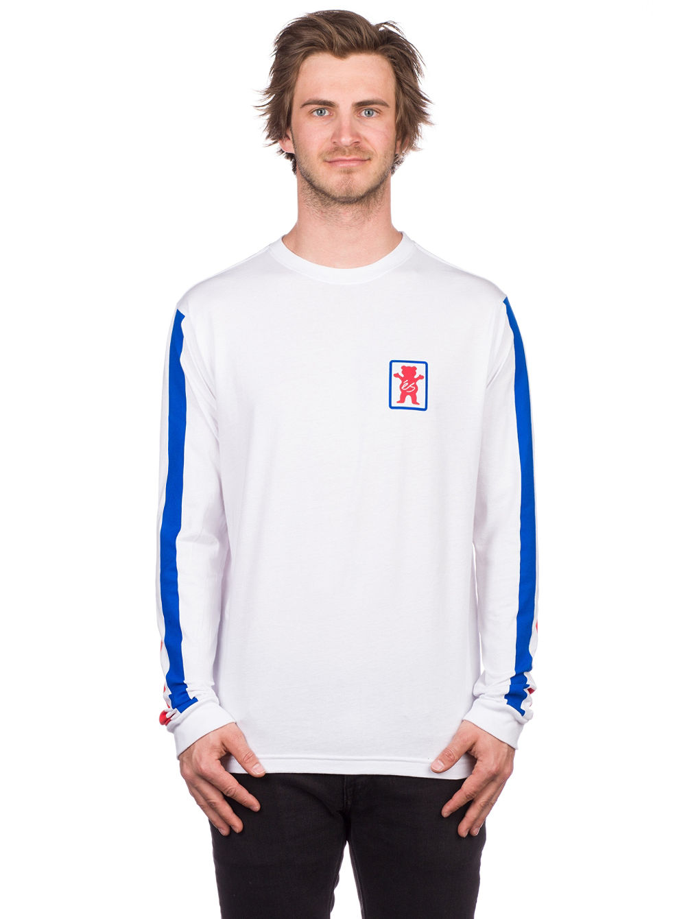 X Grizzly Racquet T-Shirt LS