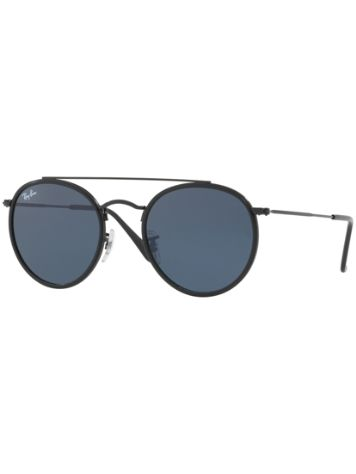 Ray Ban RB3647N Black Solid Grey Sonnenbrille