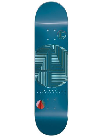 "Almost A+ R7 8.25"" Skate Deck"