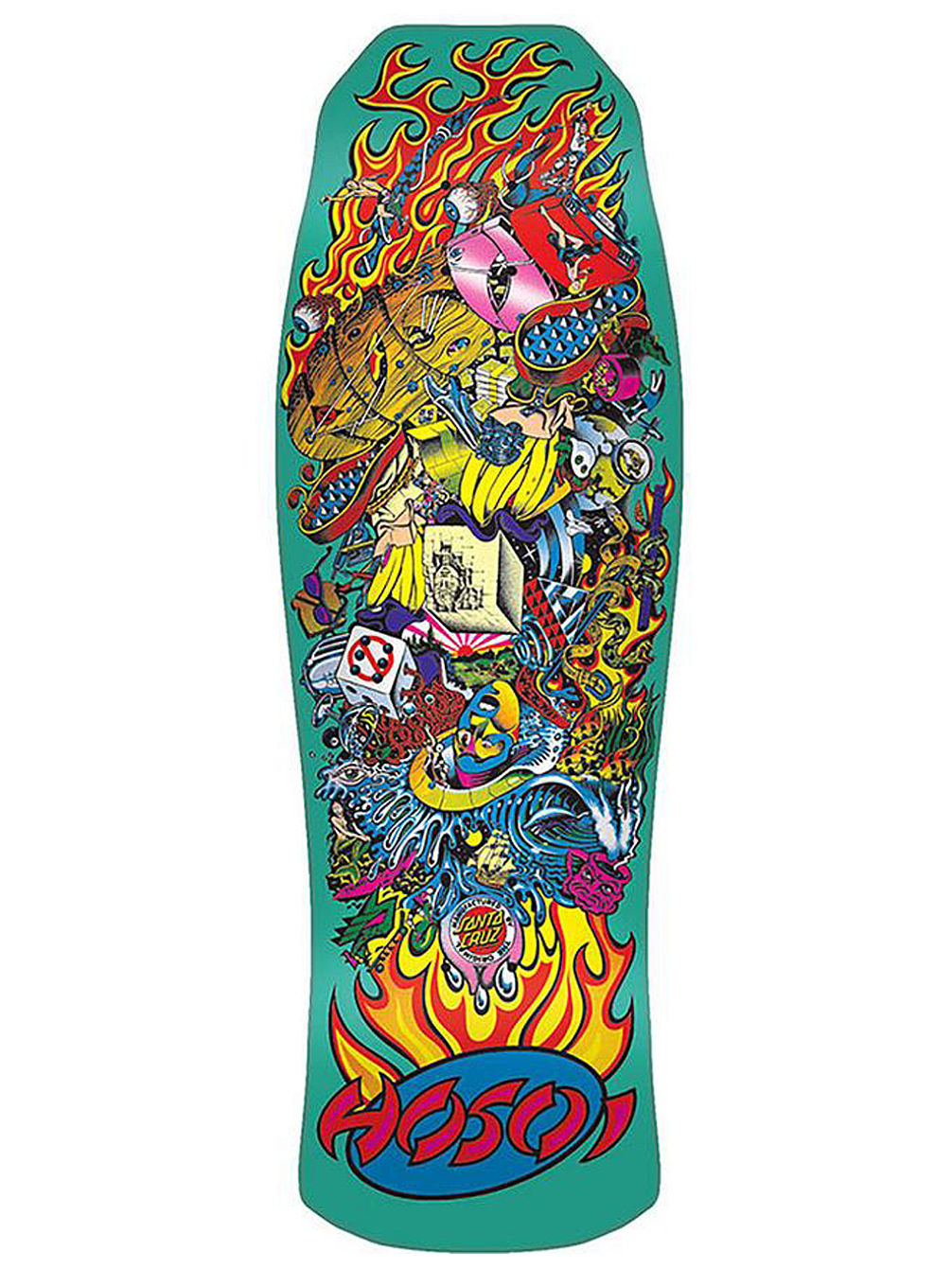 Hosoi Collage Candy Metallic Mint 10 Skate D