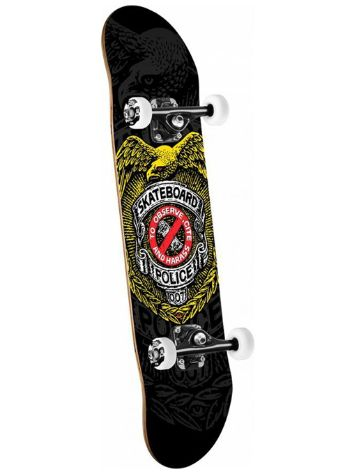 "Powell Peralta Skateboard Police 8"" Complete"