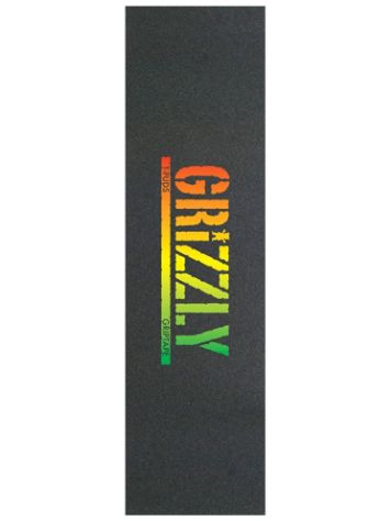 Grizzly T-Puds Rasta Stamp Grip Tape