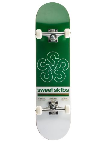 "SWEET SKTBS Cycle Green 7.75"" Complete"