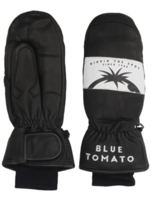Blue Tomato Leather Mittens black Gr. M