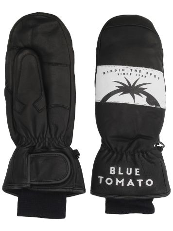 Blue Tomato Leather Mittens