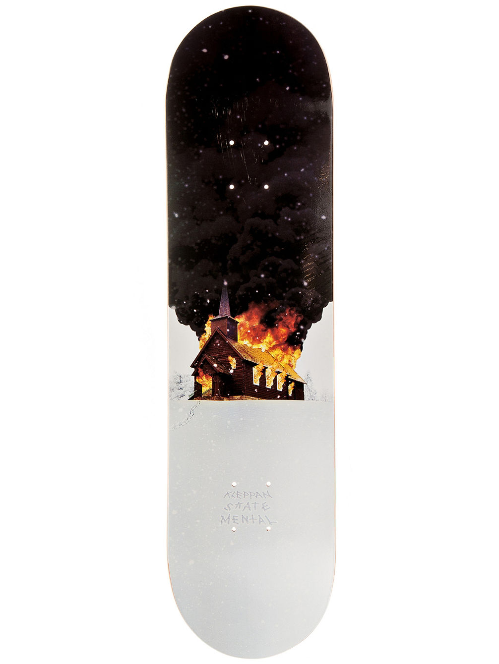 "Kleppan Church 8.0"" Skate Deck"