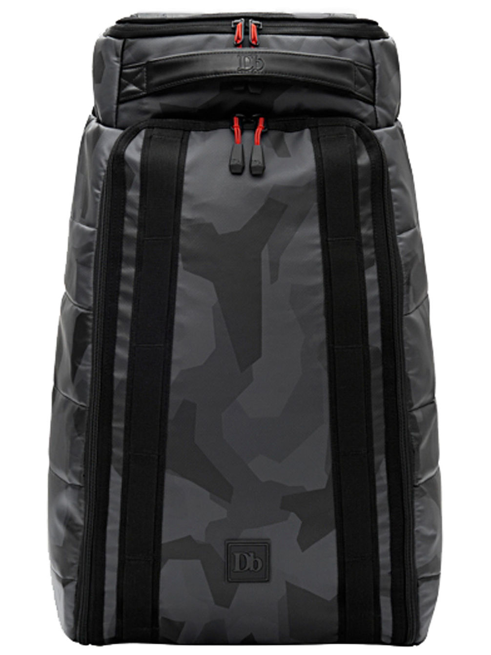 The Hugger 30L Black Camo Rucksack