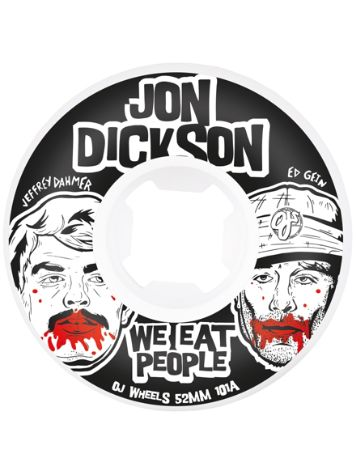 OJ Wheels Dick. We Eat Pe Ins EZ EDGE 101a 52mm Wh
