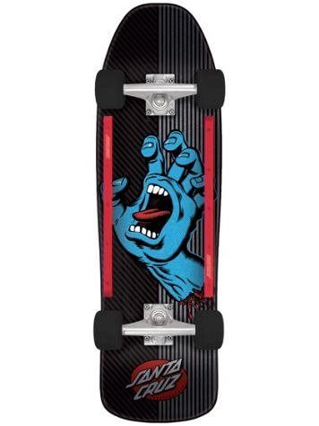 "Santa Cruz Screaming Hand Metal Stripe 9.35"" Comple"