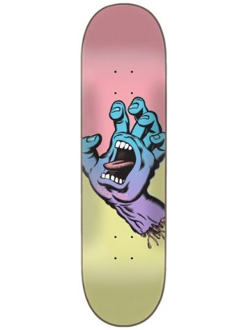 Santa Cruz Pastel Screaming Hand 8.25 Skate Deck