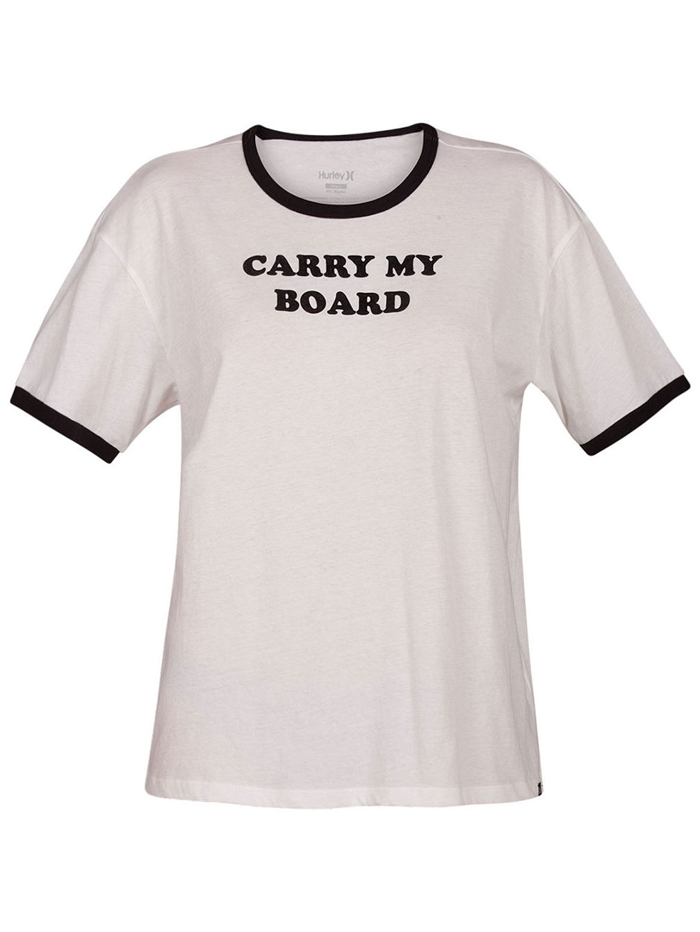 Carry My Board Ringer T-Shirt