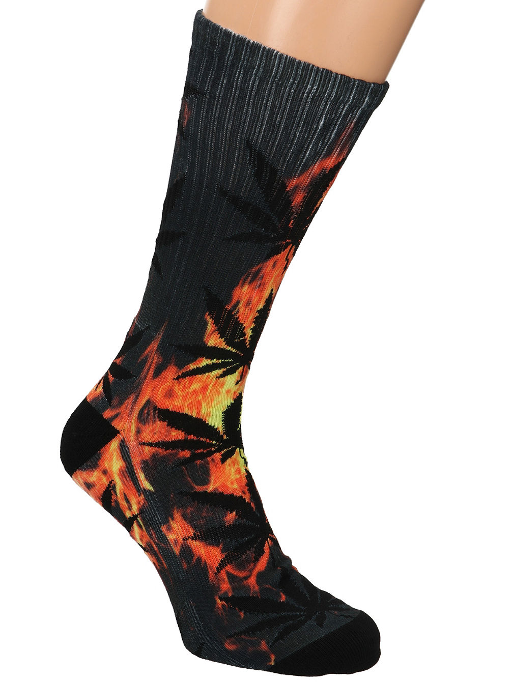 Digital Plantlife Crew Socks