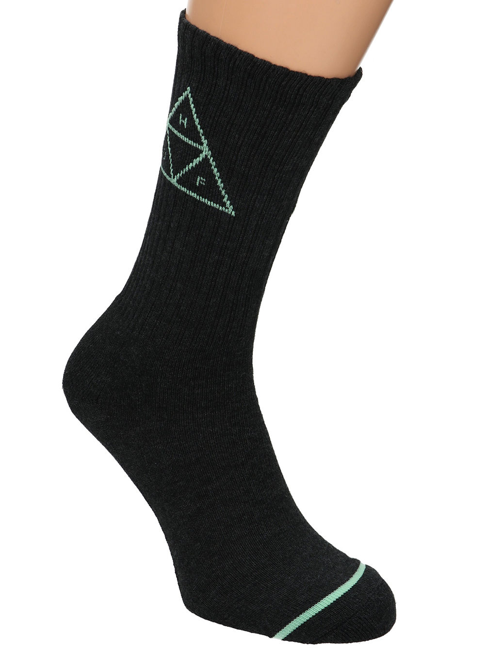 Triple Triangle Crew Socks