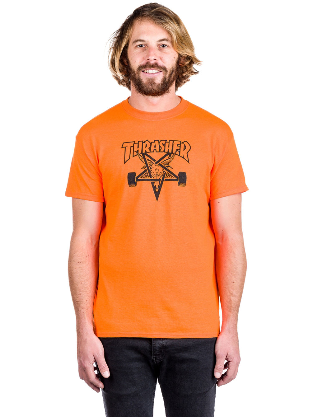 8fd627c37a4a Buy Thrasher Skate Goat T-Shirt online at Blue Tomato