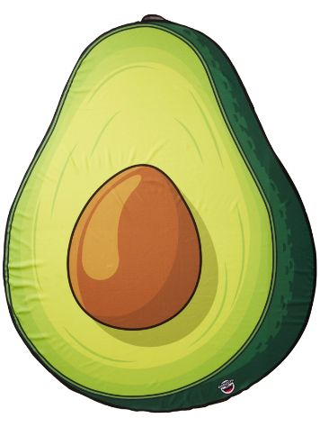 Big Mouth Toys Avocado Beach Handtuch