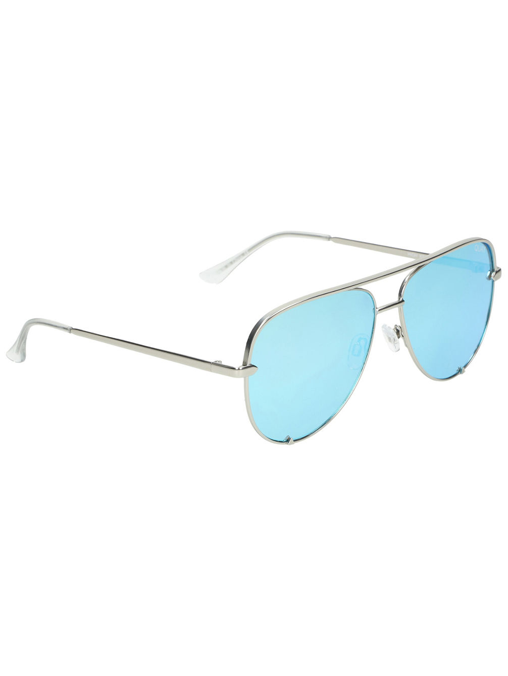 High Key Silver Blue Sonnenbrille