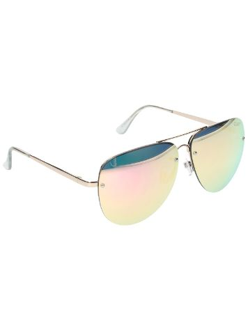 Quay Australia Muse Gold Pink Sonnenbrille