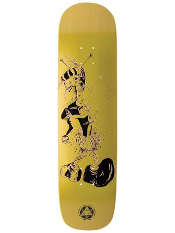 "Welcome Effigy On Yun Nibiru Gold 8.25"" Skate Deck"