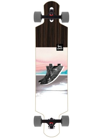 "Long Island Longboards Fin 40"" Drop Li Compleet"