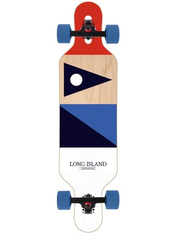 "Long Island Longboards Ahti 37"" Drop Li Complete"