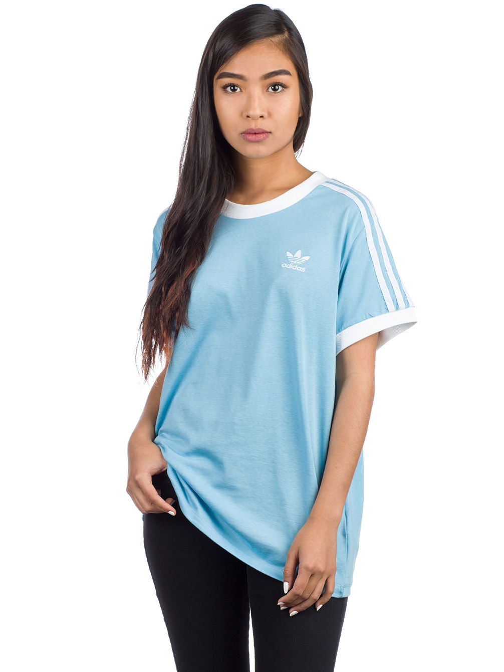 948ff6a80 Compra adidas Originals 3 Stripes Camiseta en línea en Blue Tomato
