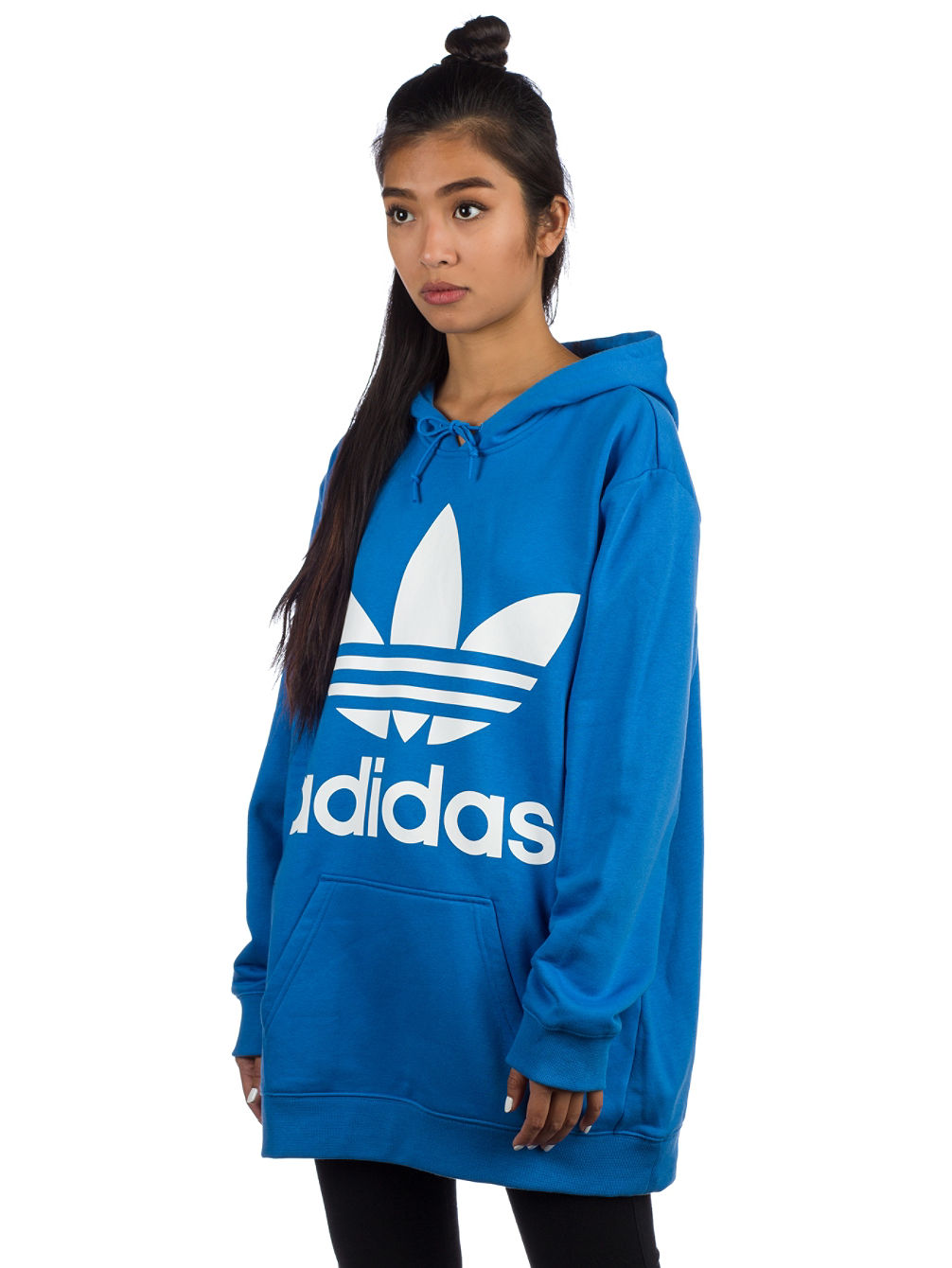 29dfc32dc5299 Buy adidas Originals Oversized Trefoil Hoodie online at Blue Tomato