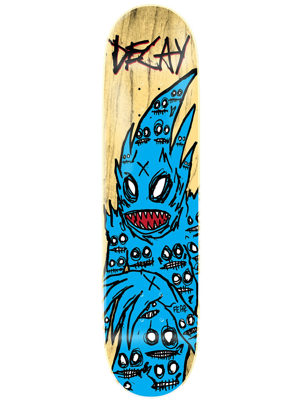 "Demon Blue 8.75"" Skate Deck"