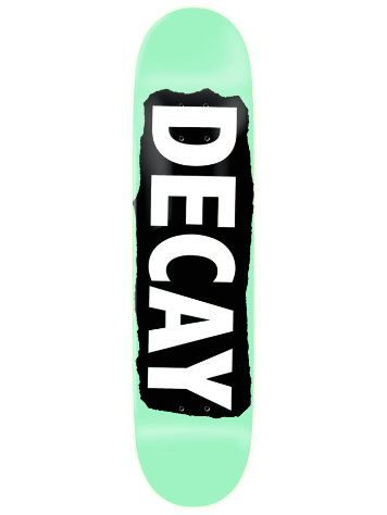 Decay Torn Light Mint Foil 8.38 Skate Deck