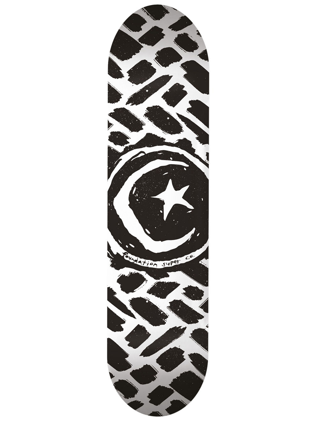 "Star And Moon Stokes 8.5"" Skate Deck"