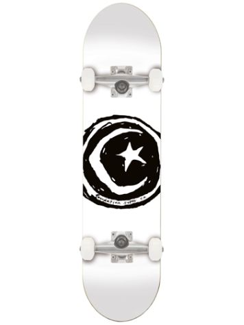 "Foundation Star And Moon White 7.75"" Complete"