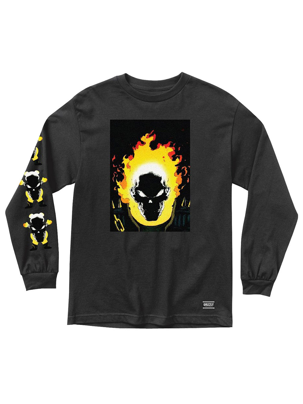 X Ghost Rider Cover T-Shirt LS