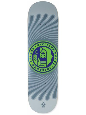 "Habitat Gall Hell City 8.625"" Skate Deck"