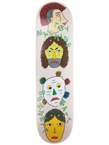 "Toy Machine Bennett Spirits 8.25"" Skate Deck"