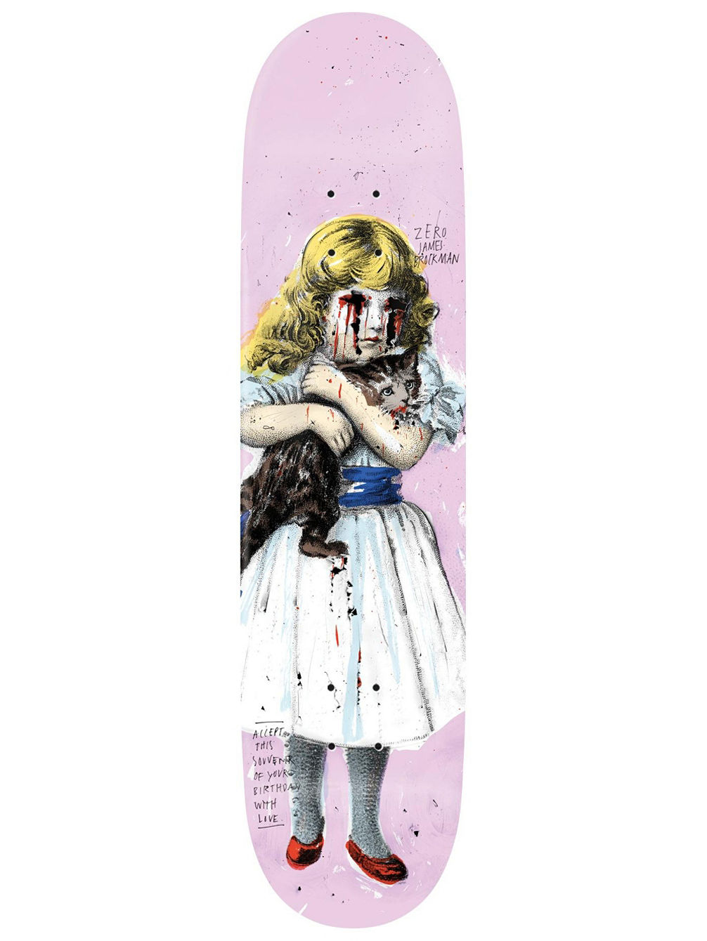 Brockman Best Wishes 8.25 Skate Deck