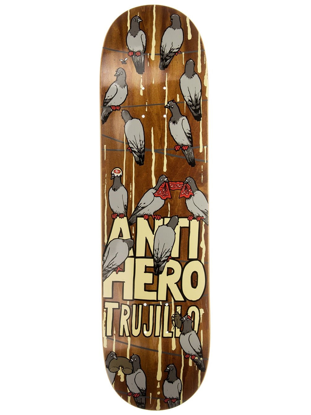 Trujillo Conference Call 8.28'' Skate Deck