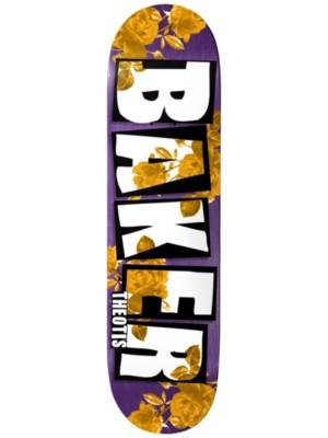 "Baker TB Brand Name Rose Gold 8.25"" Skate Deck purple Gr. Uni"