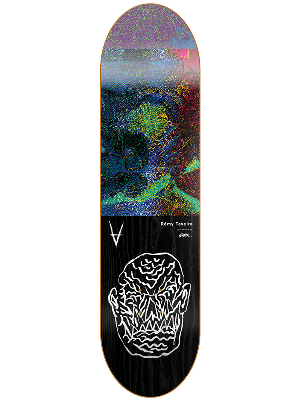 "Burn Traveira 8.375"" Skate Deck"