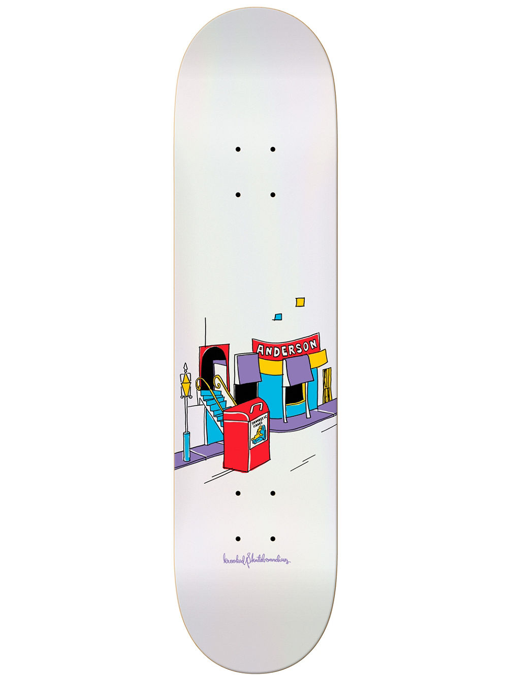 "Manderson Domestic 8.12"" Issues Skate Deck"