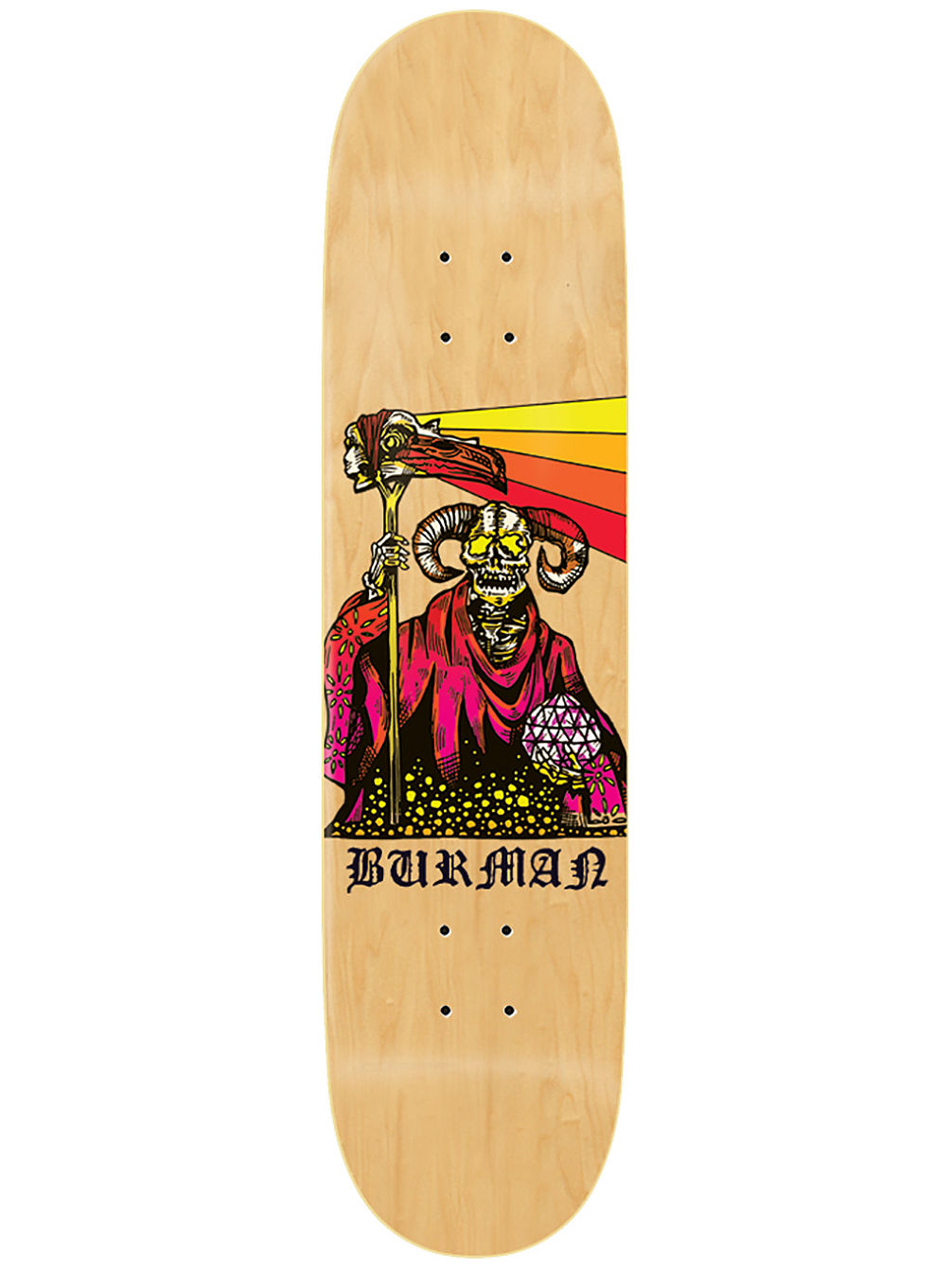 "Burman Boss Dog 8.5"" Skate Deck"