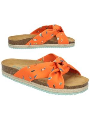 Paez Bio Foulard Sandals Women souza birds / orange Gr. 36.0 EU
