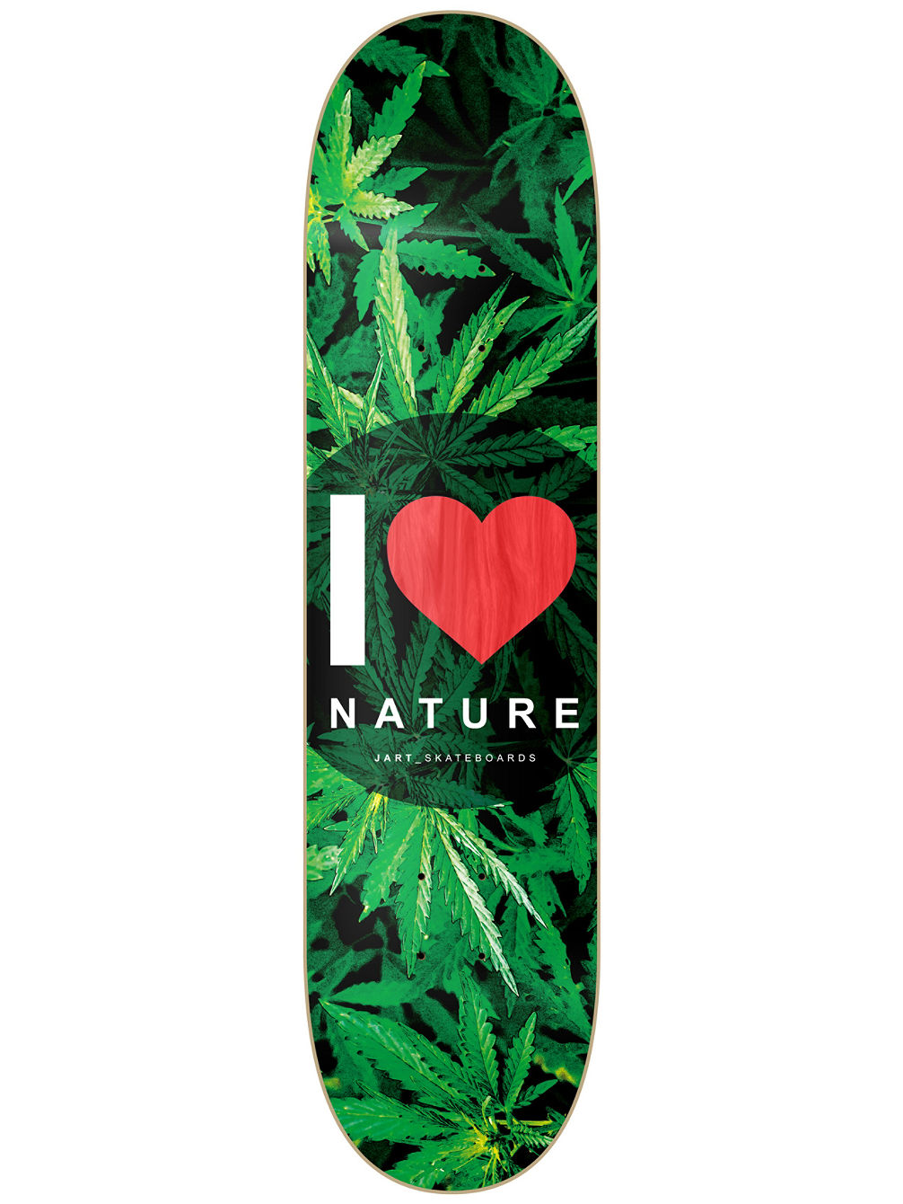 "Nature 8.0"" Red MPC Skate Deck"