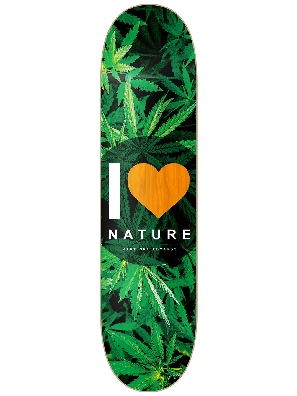 "Nature 8.375"" Orange MPC Skate Deck"