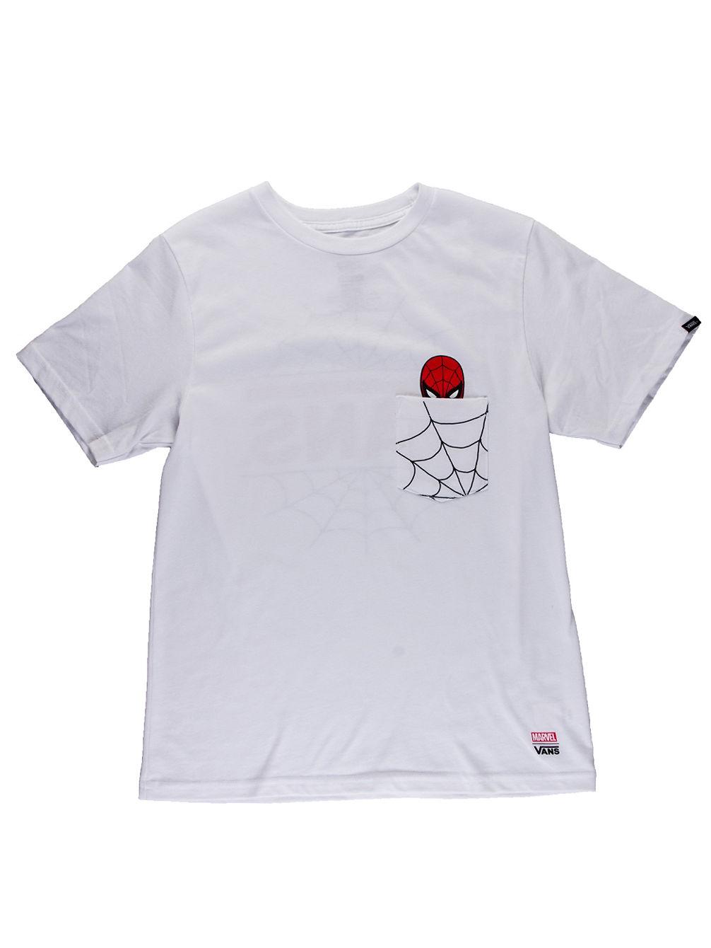 d64cd2f0fa4b1f Buy Vans Marvel Spiderman Pocket T-Shirt online at Blue Tomato