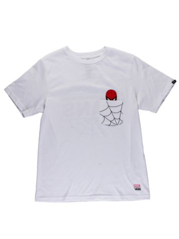 Vans Marvel Spiderman Pocket T-Shirt Boys
