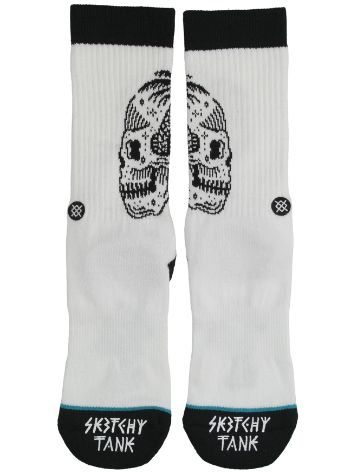 Stance X Sketchy Tank Skull Palm Calcetines