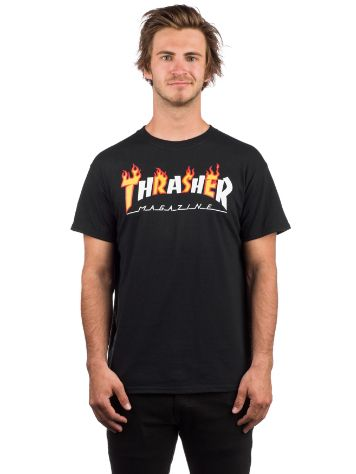 Thrasher Flame Mag Camiseta