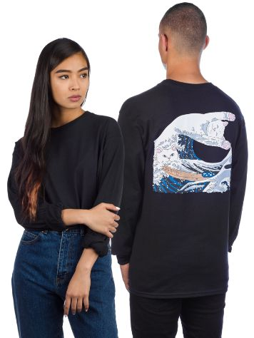 Rip N Dip Great Wave T-Shirt LS