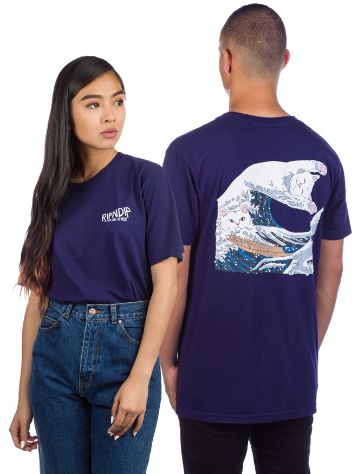 RIPNDIP Great Wave Tricko