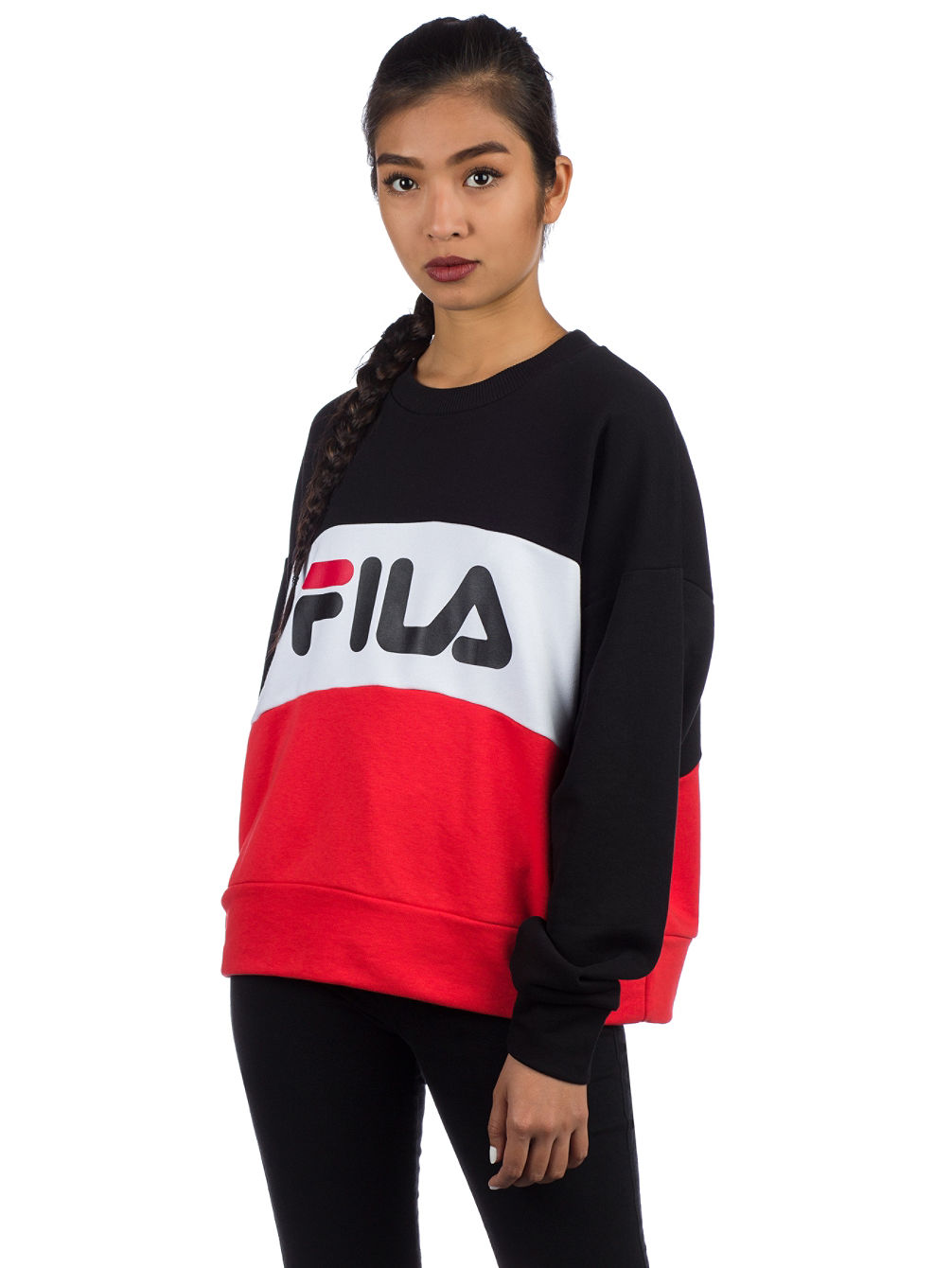 buy fila leah crew sweater online at blue. Black Bedroom Furniture Sets. Home Design Ideas