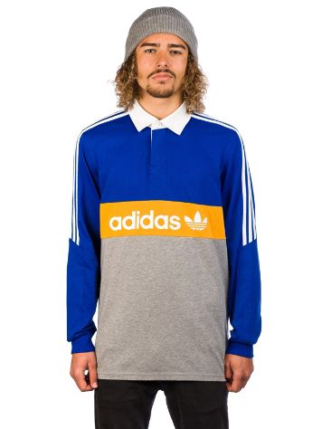 adidas Skateboarding Heritage Polo Long Sleeve T-Shirt